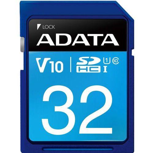 Karta pamięci ADATA SDHC 32GB Class 10 (ASDH32GUICL10-R) Darmowy odbiór w 21 miastach!, ASDH32GUICL10-R
