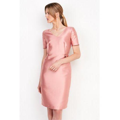 7745d59e31 Różowa sukienka z tafty - marki Patrizia aryton 799