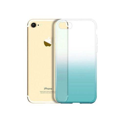 Alogy Etui ombre case apple iphone 7 / 8 zielone + szkło - zielony