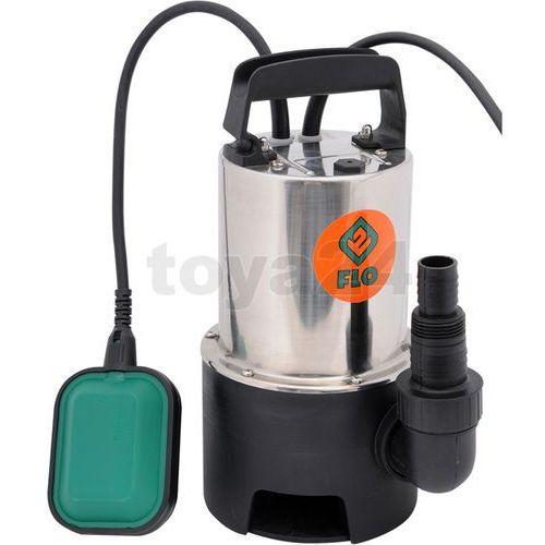 pompa zatapialna do wody brudnej ze stali nierdzewnej 750w, marki Flo