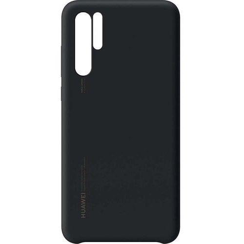 p30 pro silicone cover - black marki Huawei