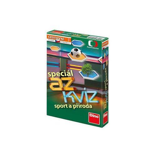 AZ kvíz Sport a příroda společenská hra cestovní v krabici 11x18x3,5cm neuveden