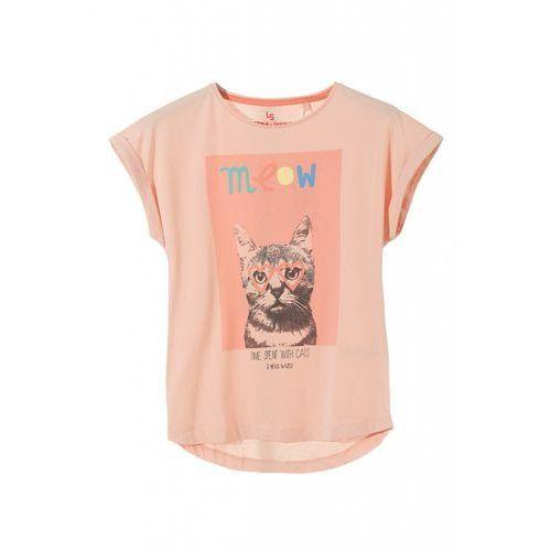 T-shirt dzianinowy dziewczęcy 4i3217 marki 5.10.15.