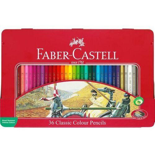 Kredki FABER CASTELL RYCERZE 36kol. FC115846 met.opak., FC115846