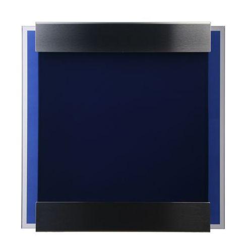 Skrzynka na listy Keilbach Glasnost Glass granatowa - produkt dostępny w All4home