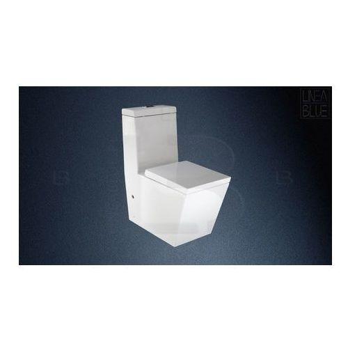 Ceramiczny kompakt wc STELLA LINEABLUE