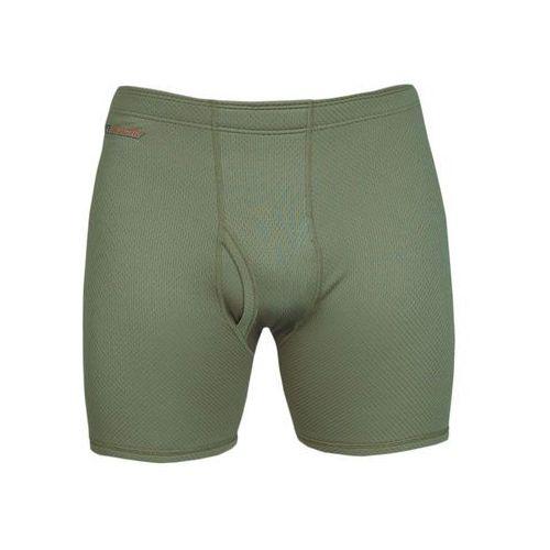 Bokserki męskie Graff 904 oliwka, kolor zielony