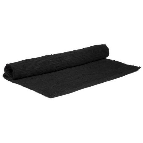 Dywanik bawełniany, 60 x 90 cm, czarny VE100-60bf - oferta [05ba612a1535e5be]