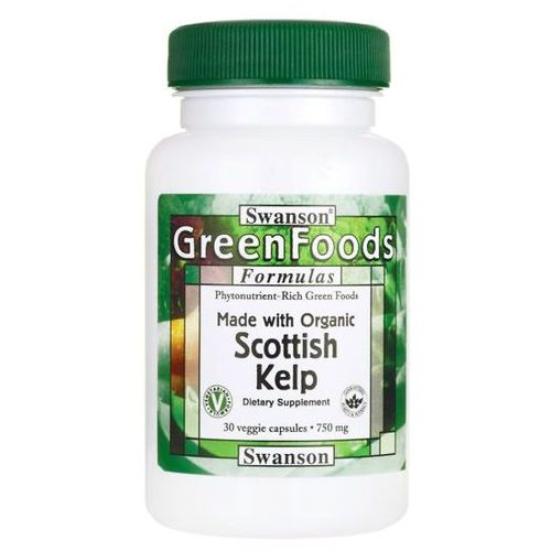 Swanson health products Swanson scottish kelp 750 mg 30 kapsułek