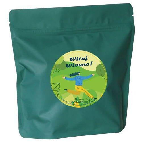 Cup&you cup and you Witaj wiosno! zestaw wysokiej jakości herbat smakowych z zaparzaczem 12 x 5g