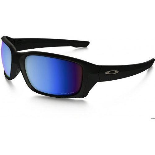 Okulary straightlink matte black prizm deep h2o polarized oo9331-05 marki Oakley