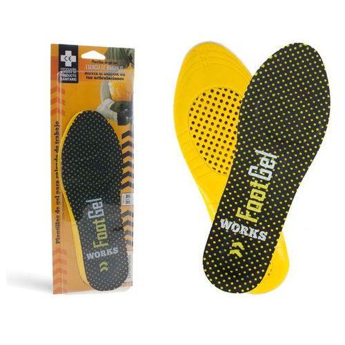 Footgel Certyfikowane wkładki do butów roboczych fg03 - wkładki żelowe