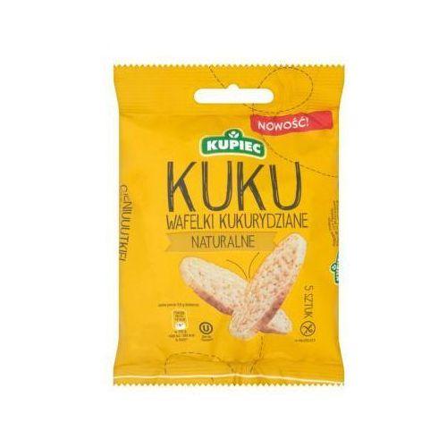 Wafle kukurydziane naturalne 18 g Kupiec