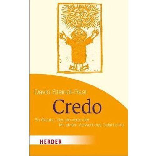 David Steindl-Rast - Credo (9783451071164)