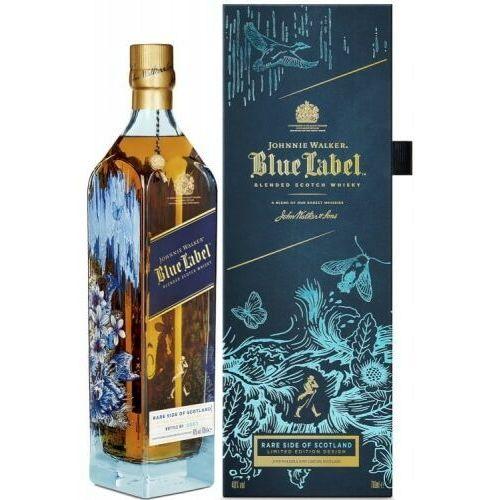 Johnnie walker Whisky j. walker blue label rare side of scotland limitowana edycja 40% 0,7l