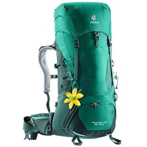 Plecak aircontact lite 35+10sl - alpinegreen-forest (green) marki Deuter