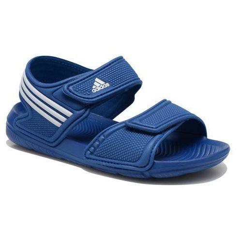 Sandały Adidas Performance Akwah 9 K Dziecięce Niebieskie (sandałki dla dzieci)