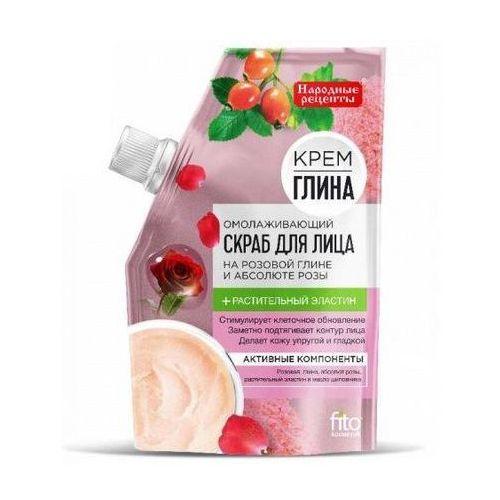 Fitokosmetyka, rosja Peeling odmładzający do twarzy na bazie różowej gliny i olejku różanego 50ml (4630040770562)