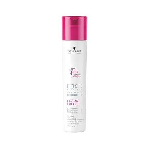 Schwarzkopf BC Color Silver, szampon chroniący przed żółtymi tonami 250ml (4045787302370)