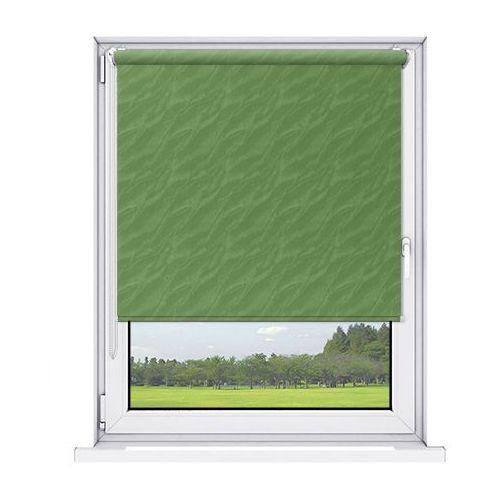 Karnix Roleta mini aqua (żakardowa) - green / biały