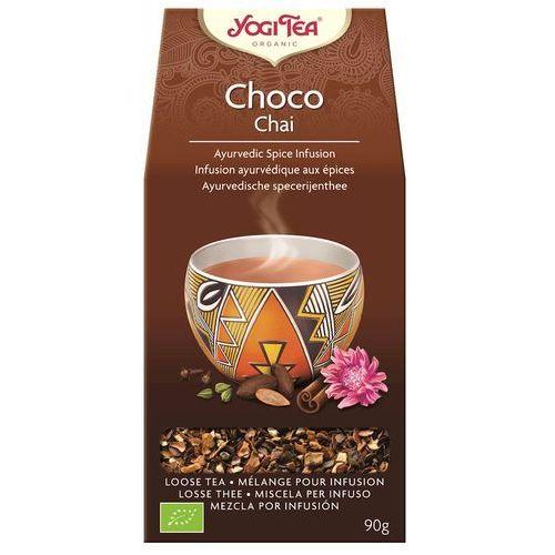 Herbatka Czekoladowa Choco z Kakao BIO 90 g Herbata Yogi Tea (4012824529359)