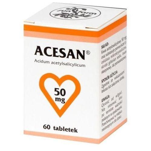 ACESAN 50mg x 60 tabletek z kategorii pozostałe zdrowie