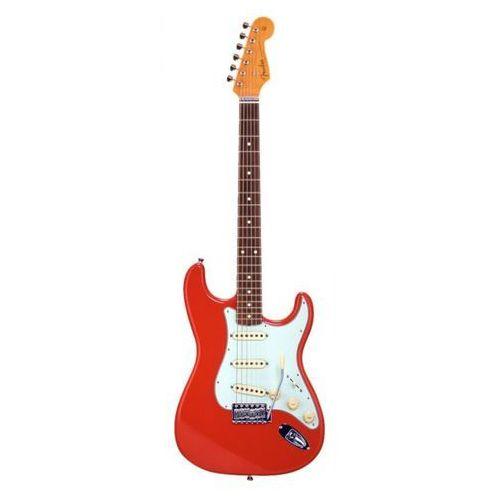60s stratocaster fiesta red japan gitara elektryczna marki Fender