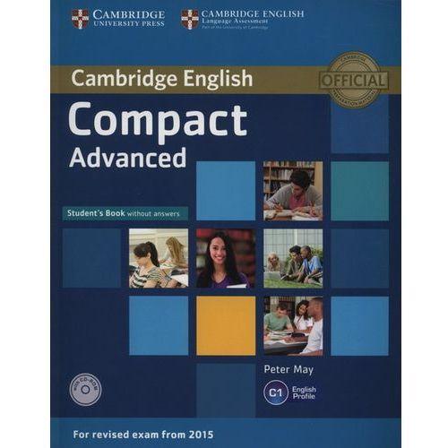 Compact Advanced. Podręcznik bez Klucza + CD, Cambridge University Press