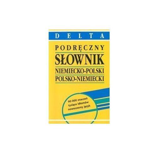 Podręczny słownik niemiecko-polski, polsko-niemiecki, oprawa twarda