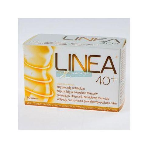 Linea 40+ 60 tabl. z kategorii Tabletki na odchudzanie