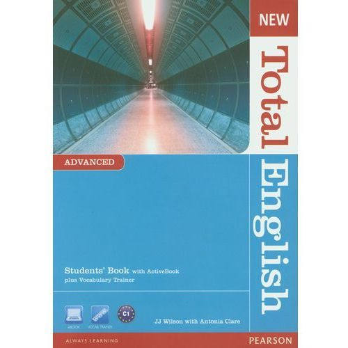 New Total English Advanced Students' Book With Activebook Plus Vocabulary Trainer, Pearson Education