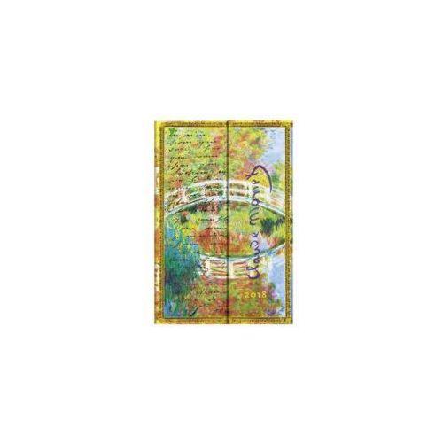Kalendarz książkowy mini 2018 12M Monet, Bridge (9781439741771)