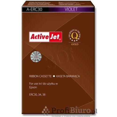 Kaseta barwiąca a-erc30 kolor fioletowy do kas fiskalnych epson (zamiennik erc-03) marki Activejet