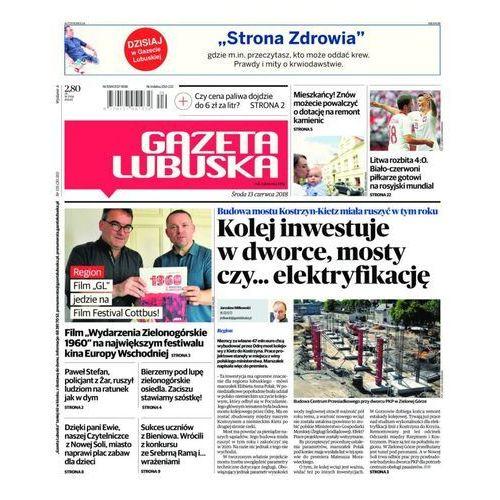 Gazeta Lubuska - B Żary, Żagań, Nowa Sól, Wschowa, Głogów, Polkowice 135/2018