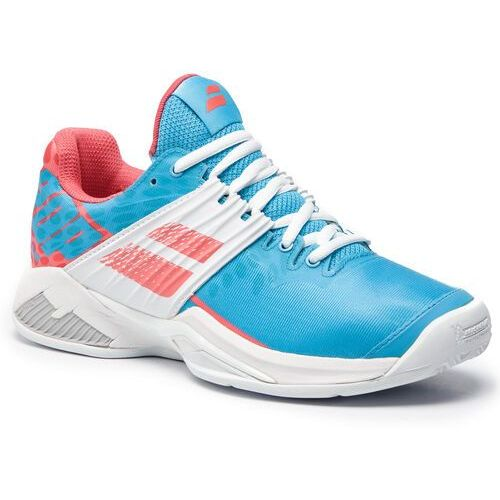 Babolat Buty - propulse fury clay 31s19554 sky blue/pink
