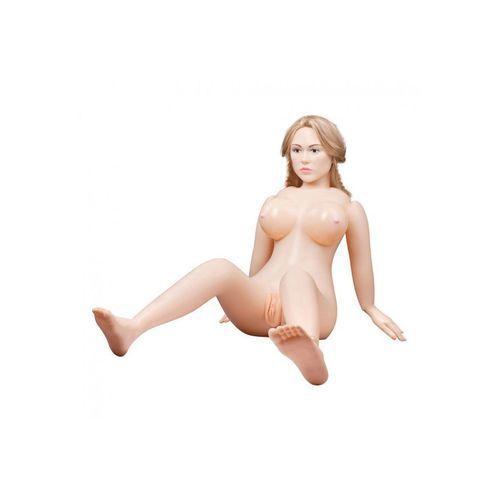 You2toys Dmuchana lalka suzie carina twarz 3d długie włosy | 100% dyskrecji | bezpieczne zakupy (4892503145687)