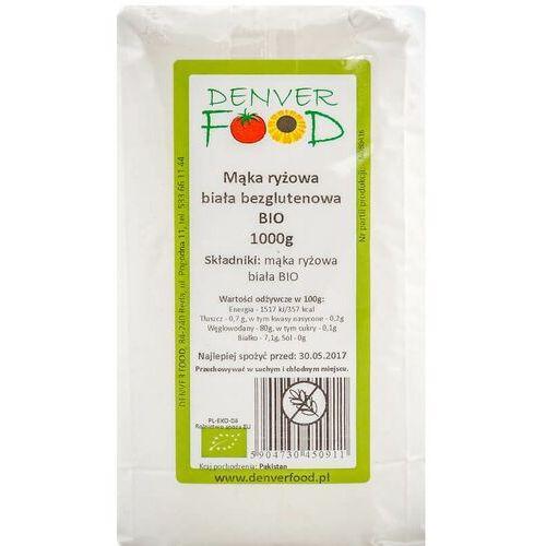Denver food ul. pogodna 11, 84-240 reda, polska dystrybutor: denver fo Mąka ryżowa bezglutenowa bio 1000g denver food (5904730450911)
