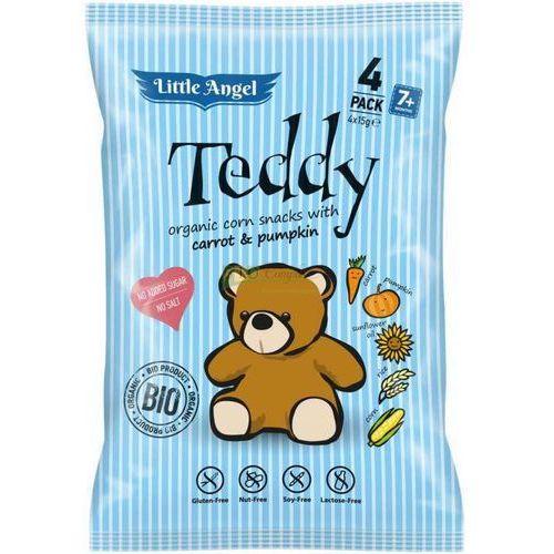 Teddy chrupki od 7 miesiąca o smaku marchwi i dyni 4 x15g (8588004638778)