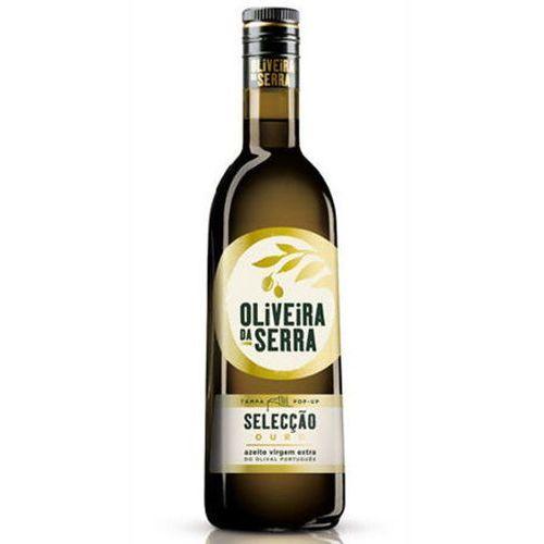 Portugalska oliwa z oliwek extra virgin złota 750ml marki Oliveira da serra