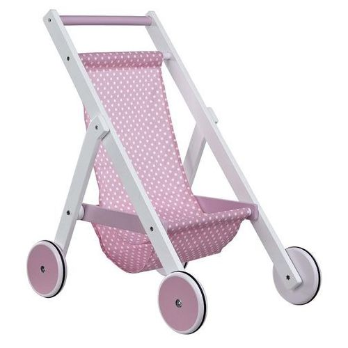 Wózek dla lalek Kids Concept - Różowy KC412883 - oferta [45fcea0ae1a254ff]