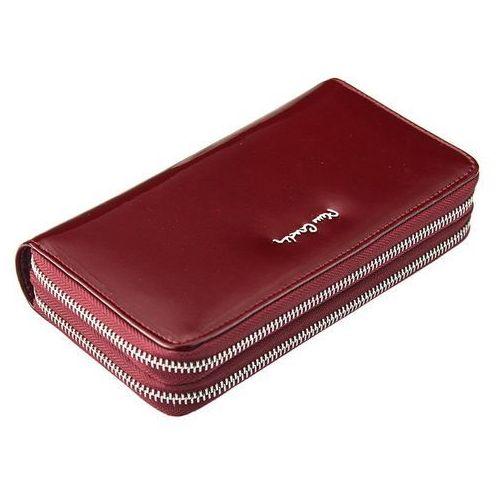 ad9e0a67393af ... Duży portfel damski z dwiema kieszeniami zapinanymi na zamek marki  Pierre cardin 139,00 zł producent Pierre Cardin od lat.