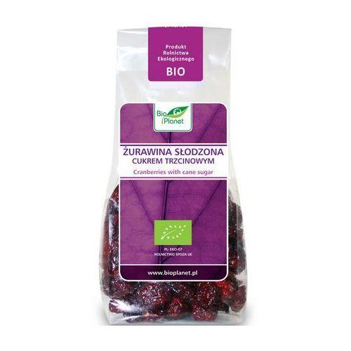 Żurawina słodzona cukrem trzcinowym BIO (Bio Planet) 100g, BP