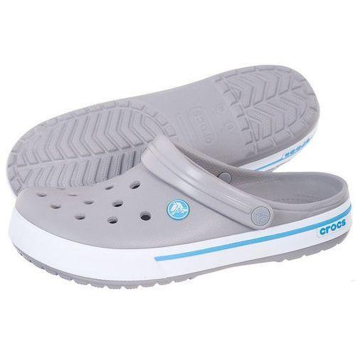 Klapki Crocs Crocband 2.5 Light Grey/Electric 12836-0D7 (CR33-t), kolor szary