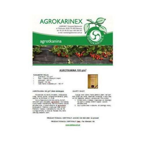 Agrotkanina zielona 100 g/m2, 1,5 x 100 mb. Rolka - produkt z kategorii- folie i agrowłókniny