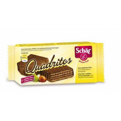 Schar Quadritos- wafelki w czekoladzie bezgl. 40 g -