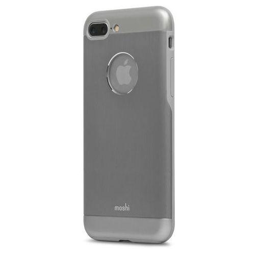 Moshi iGlaze Armour - Etui aluminiowe iPhone 7 Plus (Gunmetal Gray) Odbiór osobisty w ponad 40 miastach lub kurier 24h, kolor Moshi