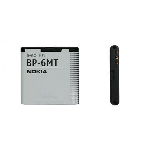 Nokia 6720 classic / BP-6MT 1050mAh 3.9Wh Li-Ion 3.7V (oryginalny) - produkt z kategorii- Baterie do telefonów