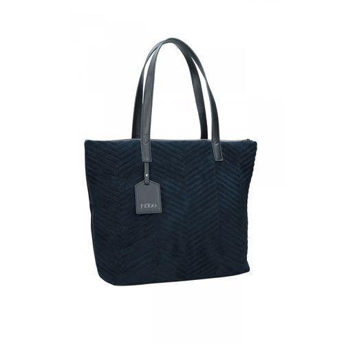 03fd2124847c5 Klasyczna torba ze skóry ekologicznej - Nobo 219,00 zł klasyczna torebka od  firmy Nobo. Model produkowano ze skóry ekologicznej. Jednokomorowa i  pojemna ...