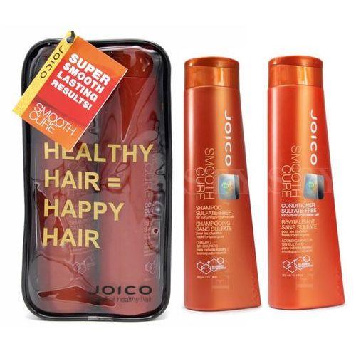 smooth cure | zestaw wygładzający bez siarczanów: szampon 300ml + odżywka 300ml marki Joico
