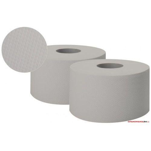 Papier toaletowy JUMBO-ROLL szary ESTETIC 1-warstwowy PJS1120